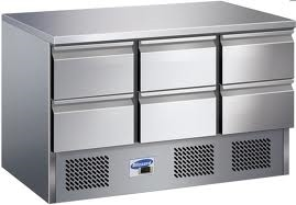9 Drawers/12 Drawers Fancooling Chef Bases